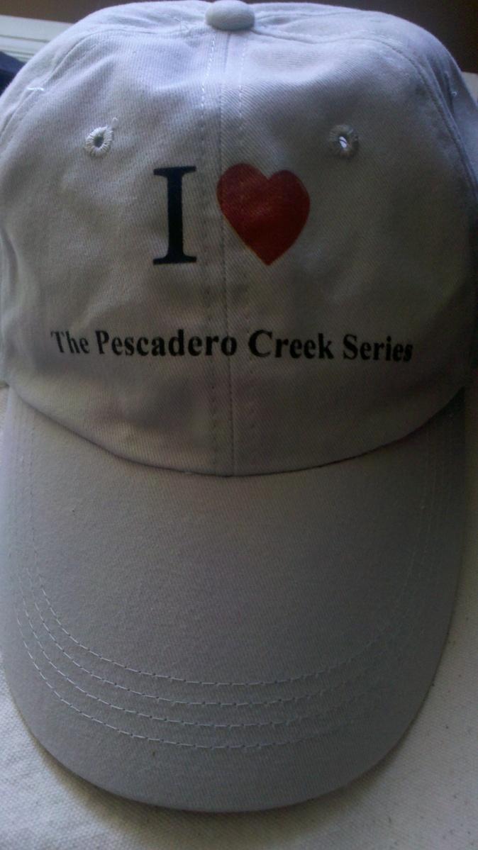 front of cap